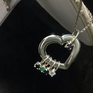 ❇️Vintage Lenox Sterling Gemstone Necklace